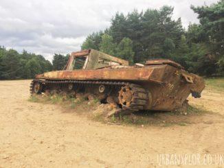 Tank Graveyard